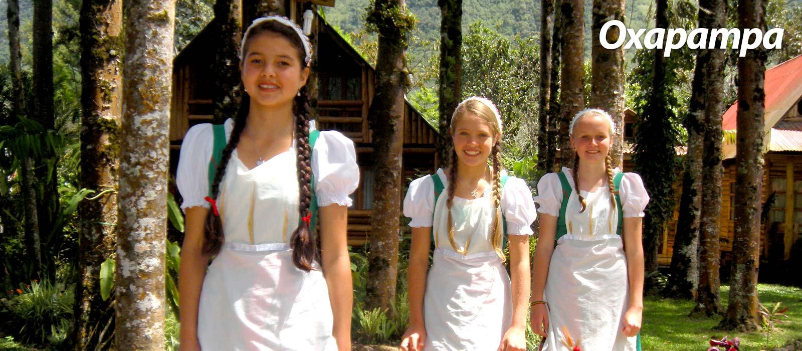 Chicas Oxapampinas